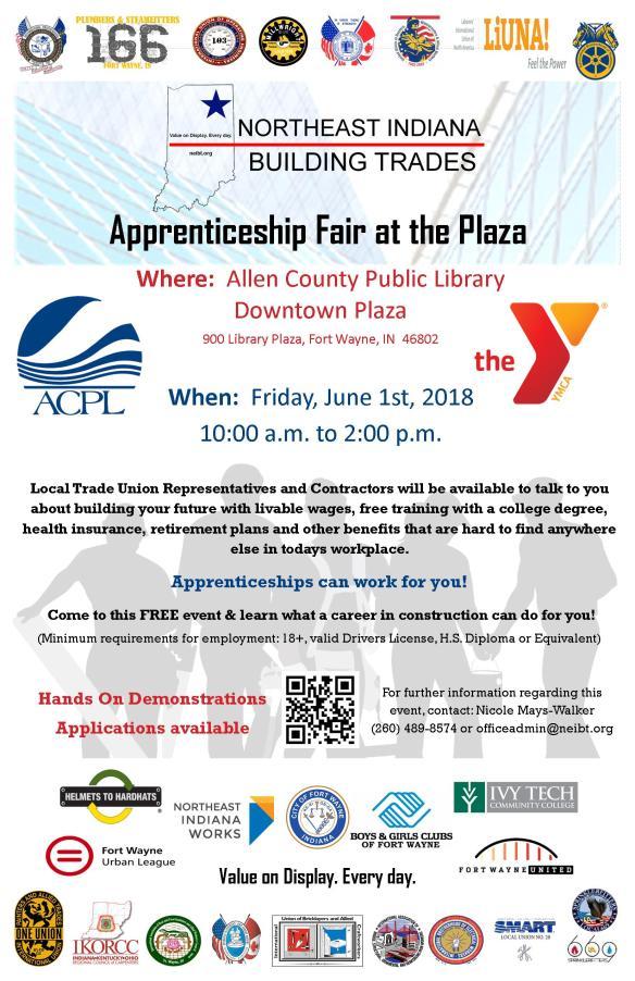 2018 Apprenticeship Fair Poster