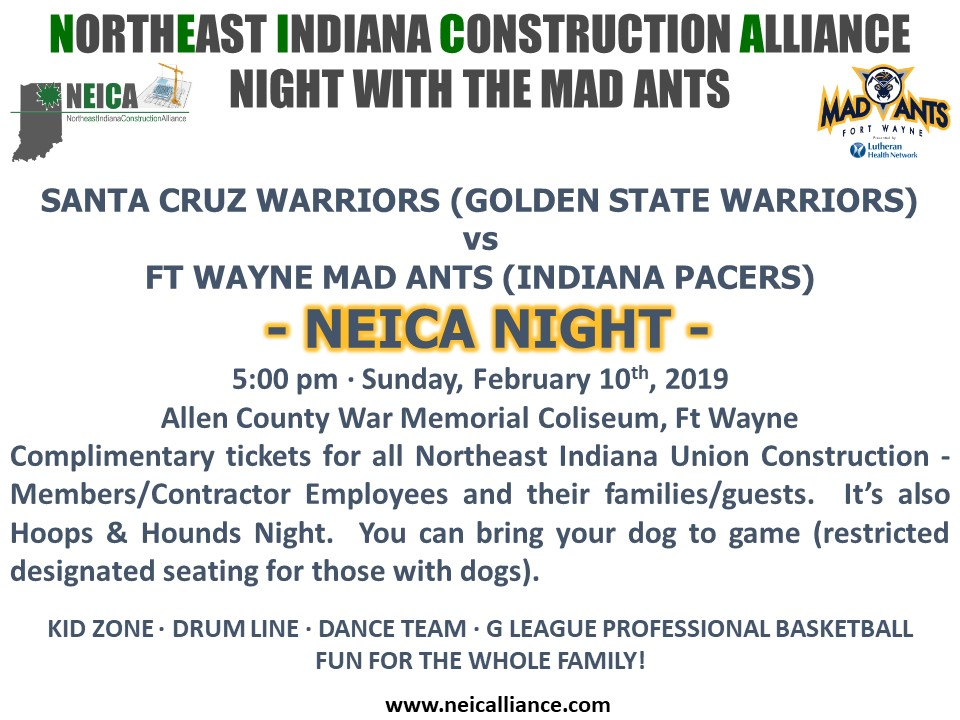 NEICA 2019 Mad Ants with Website